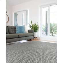 Worthington Cool Grey Flat Woven Rugs