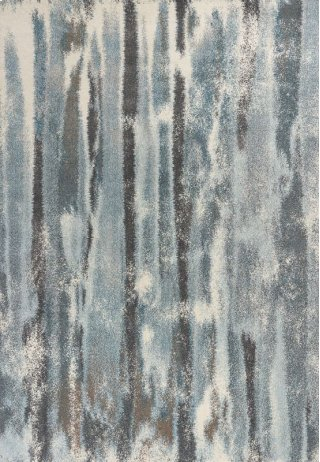 """Illusions 6211 Teal Moderne 5'3"""" X 7'7"""""""