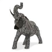 Large Elephant Aluminum Scroll Design Product Image
