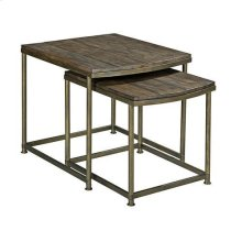 Leone Nesting End Table