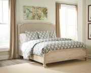 Demarlos - Parchment White 3 Piece Bed Set (King) Product Image