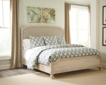 Demarlos - Parchment White 3 Piece Bed Set (King)