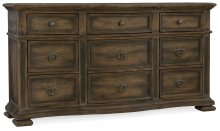 Bedroom Williamson Nine-Drawer Dresser