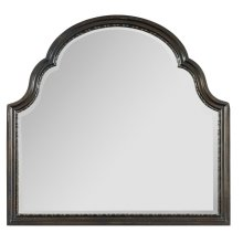 Bedroom Treviso Shaped Landscape Mirror