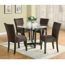 Bloomfield Cappuccino Round Dining Table Base Product Image