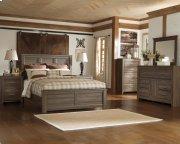 Juararo - Dark Brown 3 Piece Bed Set (Queen) Product Image