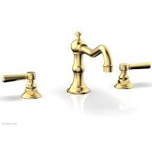 HENRI Deck Tub Set - Lever Handle - 161-41 - Satin Gold