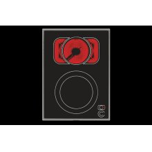 VC 422: 15-inch Vario electric cooktop