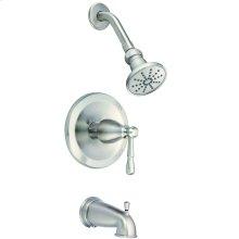 Brushed Nickel Eastham Tub & Shower Trim Kit, 1.75gpm
