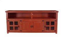 """Marfa Red 70"""" TV Stand"""