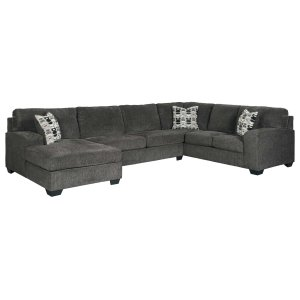 Ashley Furniture Ballinasloe - Smoke 3 Piece Sectional