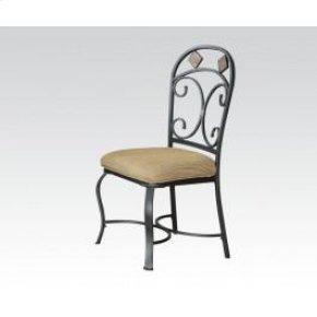 Side Chair W/slate Decor