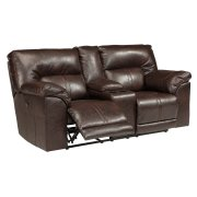 DBL REC PWR Loveseat w/Console Product Image
