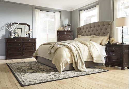King UPH Footboard with Rails