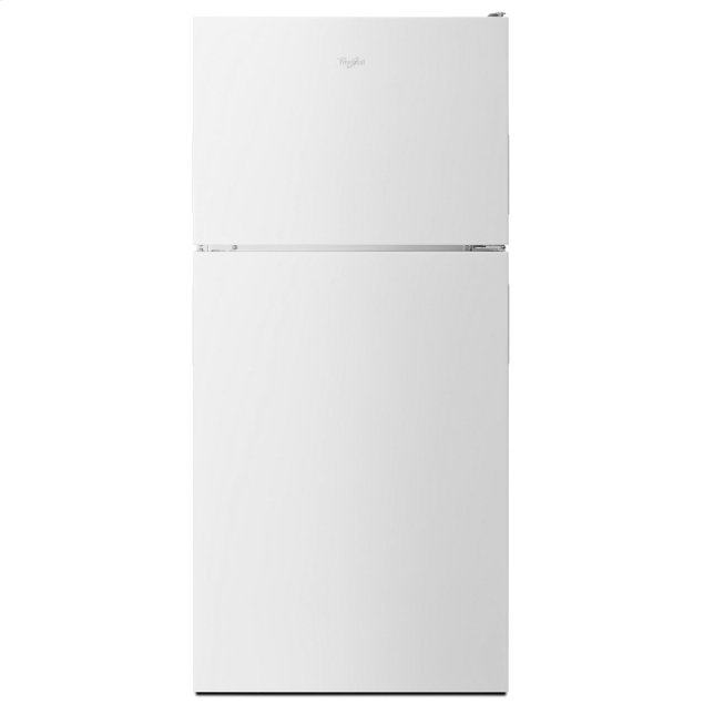 Whirlpool 30-inch Wide Top Freezer Refrigerator - 18 cu. ft. White