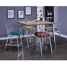 GRAY COUNTER HEIGH CHAIR