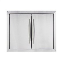 Stainless Steel Built-in Door Kit.