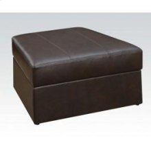Spokane Brown Storage Ottoman