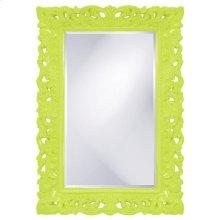 Barcelona Mirror - Glossy Green