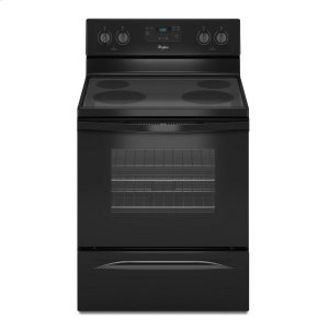 4.8 Cu. Ft. Freestanding Electric Range with FlexHeat Dual Radiant Element - BLACK