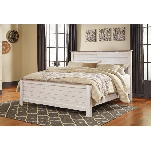 B267 King Bed (Willowton)