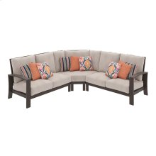 Cordova Reef - Dark Brown 3 Piece Patio Set
