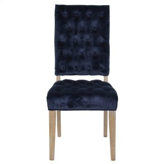 Rosalind Side Chair Navy