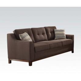 Charmant Linen Sofa W/2 Pillows Hidden