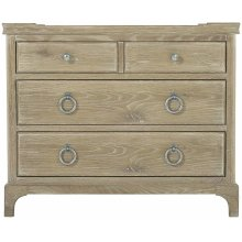 Rustic Patina Bachelor's Chest in Sand (387)