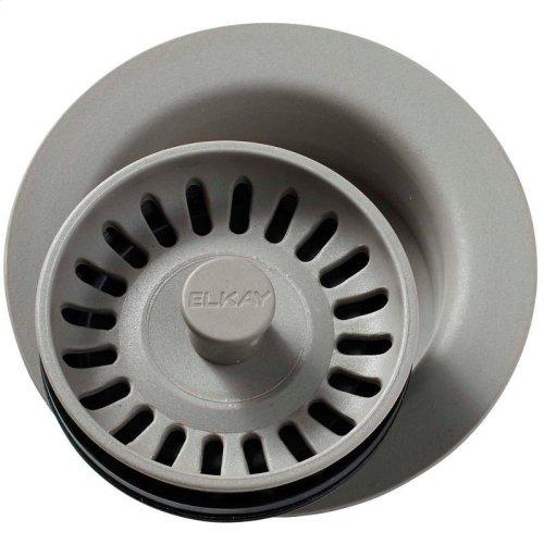 "Elkay Polymer 3-1/2"" Disposer Flange with Removable Basket Strainer and Rubber Stopper"