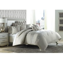 10pc King Comforter Set Neutral