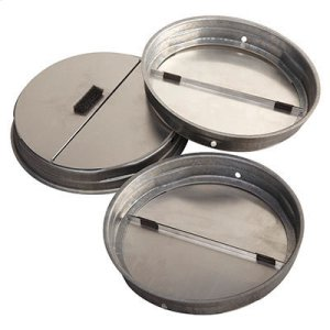 "Broan7"" Round Damper with Foam for Range Hoods"