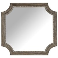 Bedroom True Vintage Shaped Mirror Product Image