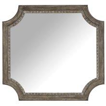 Bedroom True Vintage Shaped Mirror