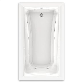 Green Tea 60x36 inch EcoSilent Whirlpool - White