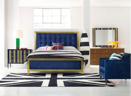 Bedroom Balthazar California King Upholstered Bed
