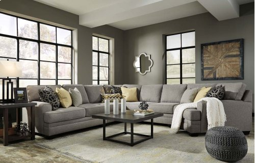 Cresson - Pewter 4 Piece Sectional