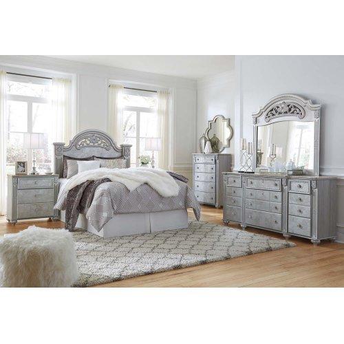 B357 Dresser & Mirror Set (Zolena)