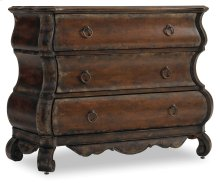 Living Room Three-Drawer Shaped Chest
