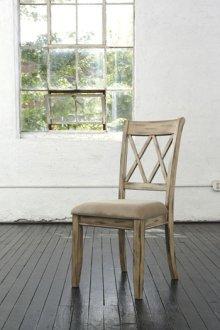 Dining Upholstered Side Chair - Mestler - Biege