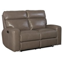 Living Room Mowry Power Recliner Loveseat w/ Power Headrest