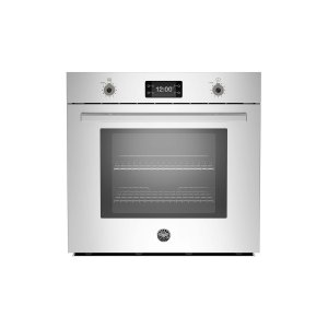 Bertazzoni30 Single Convection Oven With Assistant Stainless Steel