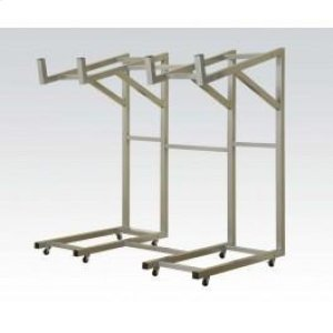 Silver Metal Rack for Sofa