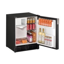 """Marine Series 21"""" Marine Combo® Model With Black Solid Finish and Field Reversible Door Swing (220-240 Volts / 50 Hz)"""