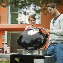 Rodeo Charcoal Kettle Grill with Cart