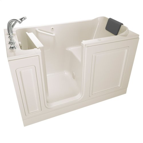 Acrylic Luxury Series 32x60 Air Bath Walk-in Tub with Tub Filler, Left Drain  American Standard - Linen