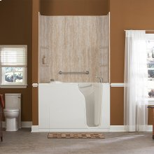 Premium Series 30x52-inch Walk-In Tub with Whirlpool System  American Standard - White