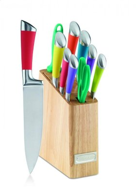 11 Piece Cutlery Set with Block
