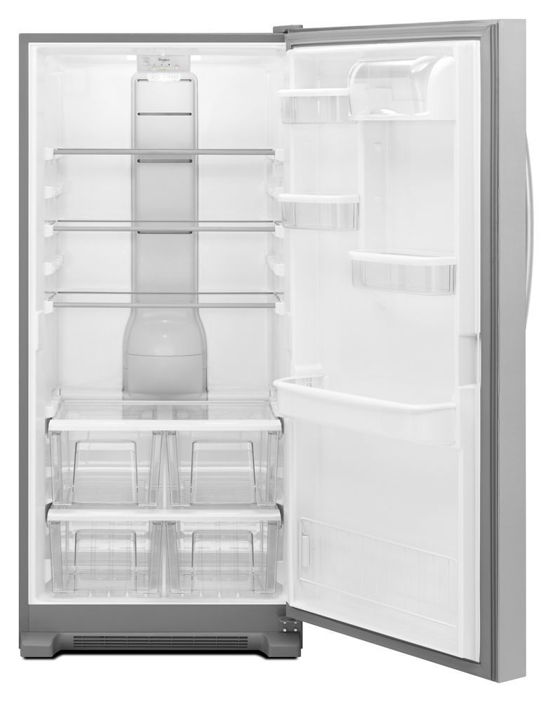 Whirlpool31-Inch Wide Sidekicks® All-Refrigerator With Led Lighting - 18 Cu. Ft.