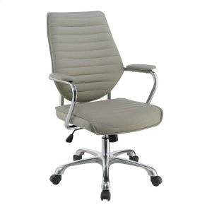 CoasterContemporary Taupe High-back Office Chair